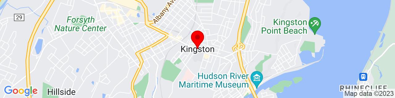 Google Map of 41.9270367, -73.9973608