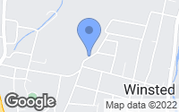 Map of Winsted, CT