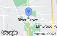 Map of River Grove, IL
