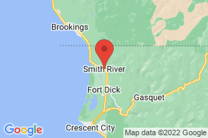 Map of Smith River