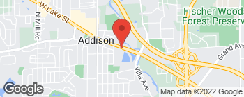 Mapa de 221 E Lake St en Addison