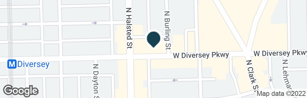 Google Map of740 W DIVERSEY PKWY