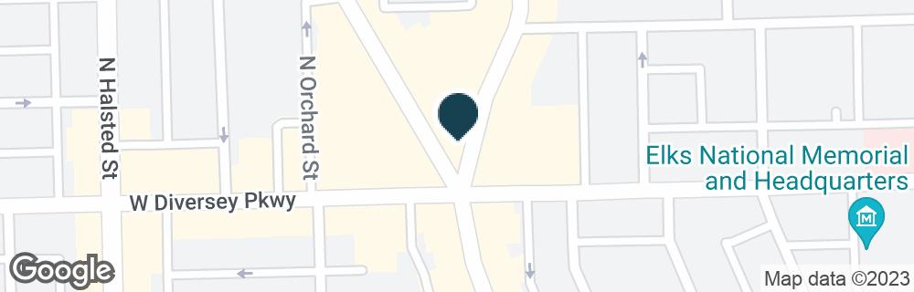 Google Map of2817 N CLARK ST