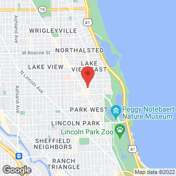 Map of Sprint at 2850 N Broadway, Chicago, IL 60657