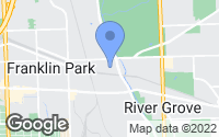 Map of Franklin Park, IL