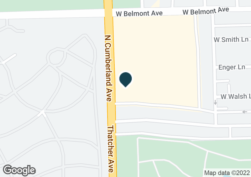 Google Map of8361 BELMONT AVE