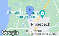 Map of Rhinebeck, NY
