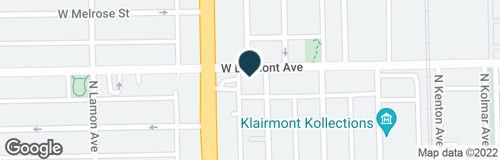 Google Map of4745 W BELMONT AVE
