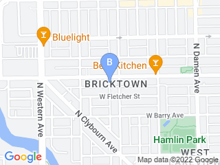 Map of Earth Pups   Chicago Dog Daycare Boarding Groom Dog Boarding options in Chicago | Boarding