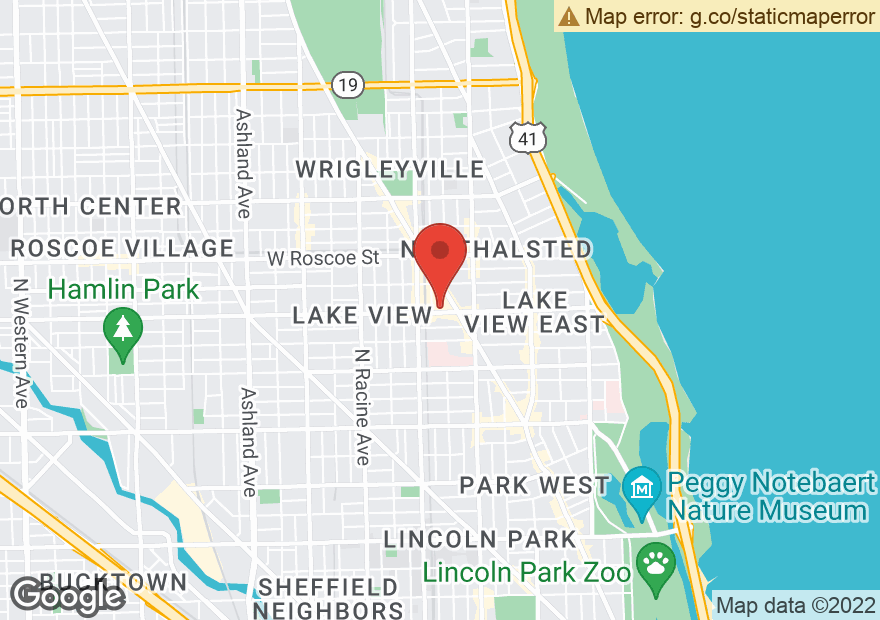 Google Map of 912 W BELMONT AVE