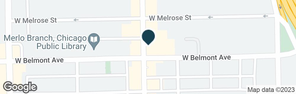 Google Map of3201 N BROADWAY ST