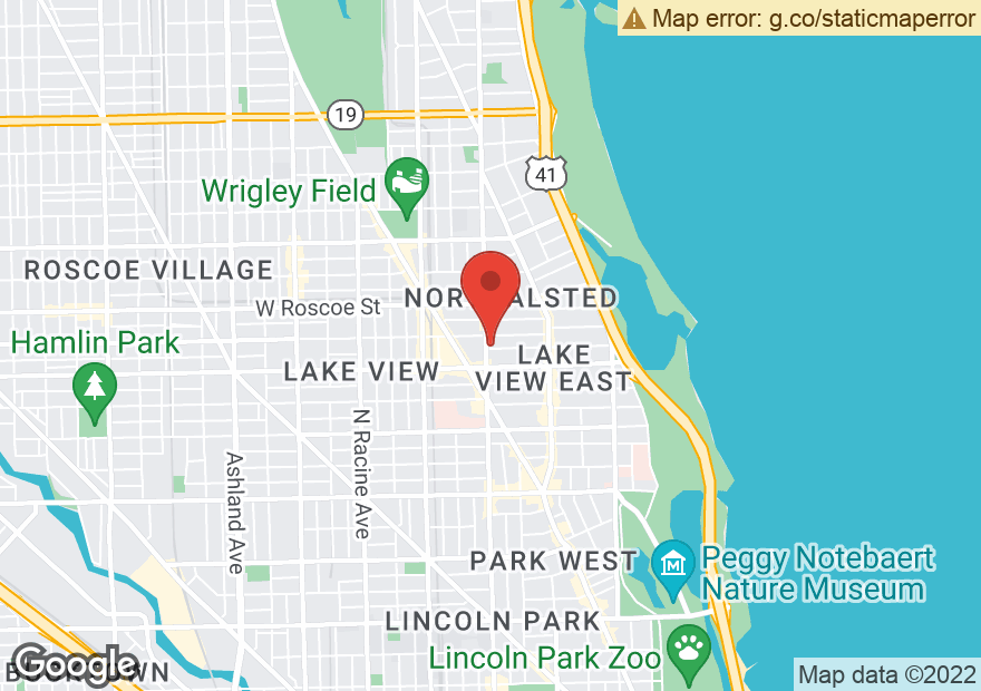 Google Map of 3245 N HALSTED ST