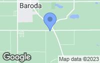 Map of Baroda, MI
