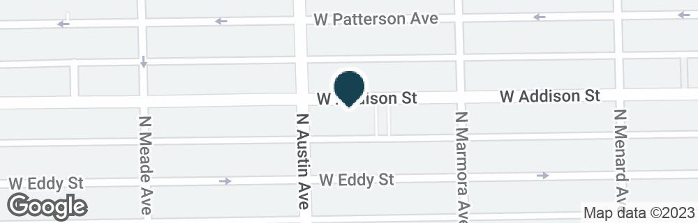 Google Map of5935 W ADDISON ST