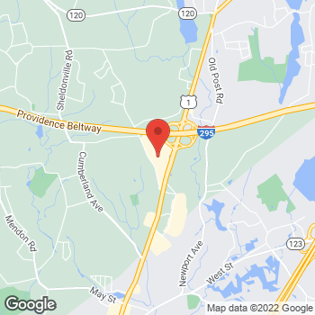 Map of location-map at 999 S Washington St Suite # W 209, North Attleboro, MA 02760