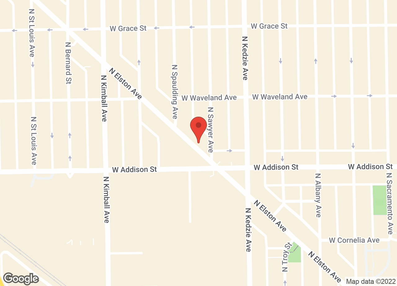 Google Map of VCA Chicago North Animal Hospital