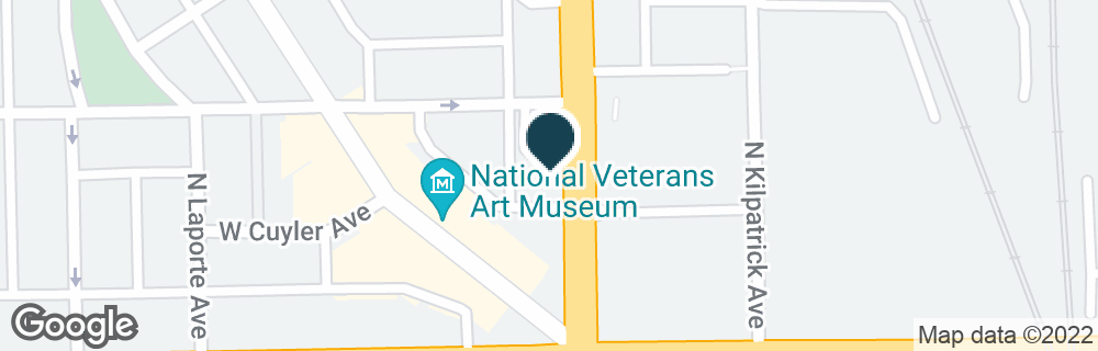 Google Map of4040 N CICERO AVE