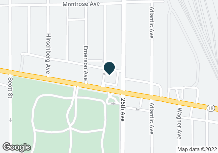 Google Map of9800 IRVING PARK RD