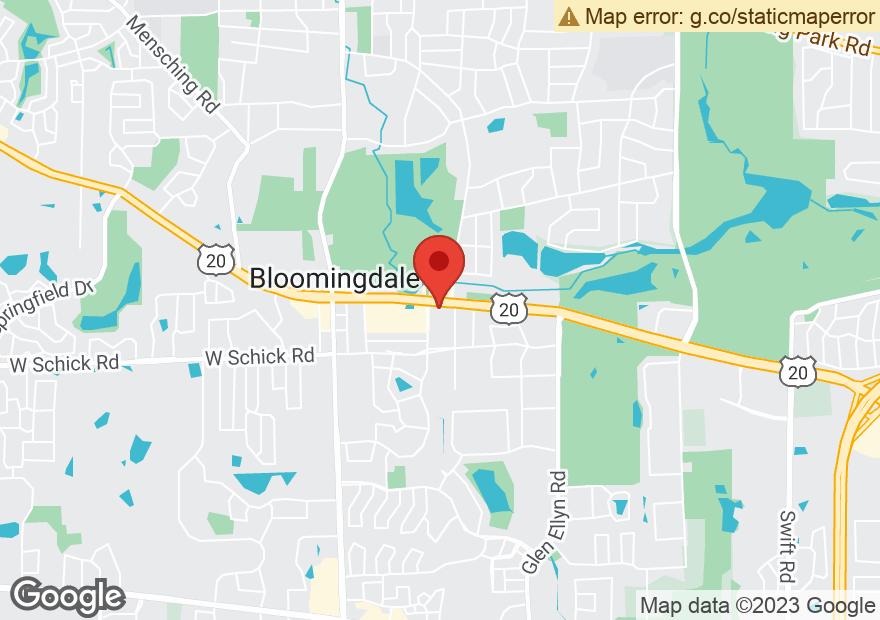 Google Map of 180 E LAKE ST