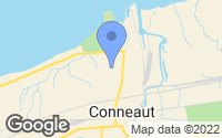 Map of Conneaut, OH