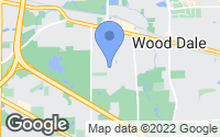Map of Wood Dale, IL