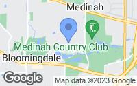 Map of Medinah, IL