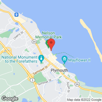Map of Huy Nguyen, MD at 225 Water Street, Plymouth, MA 02360
