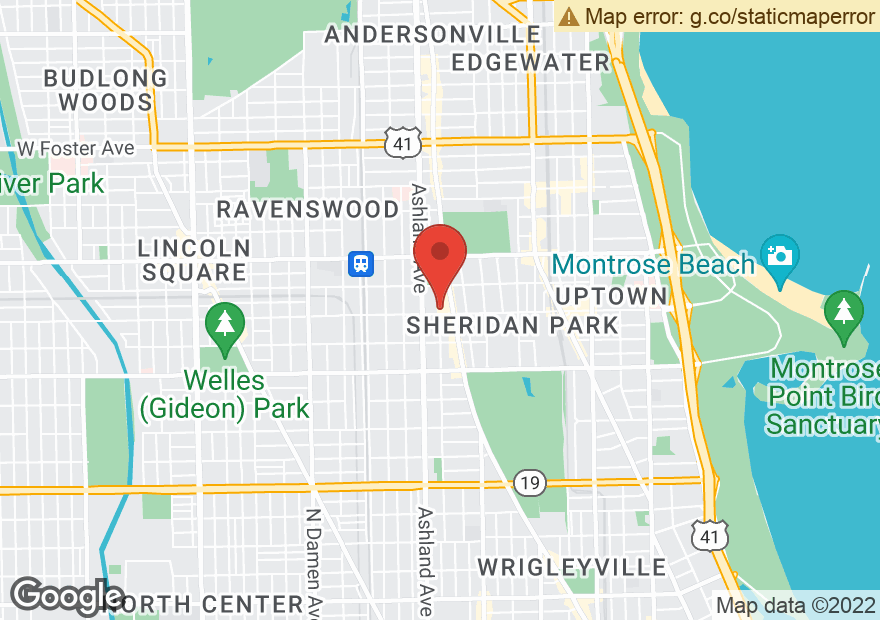 Google Map of 1500 W WILSON AVE