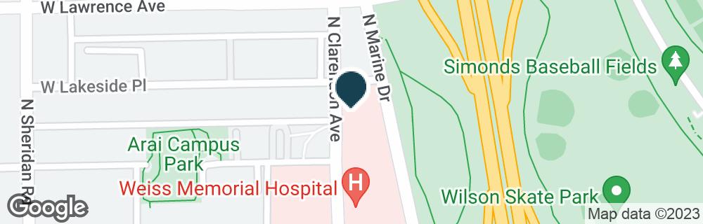 Google Map of4720 N MARINE DR