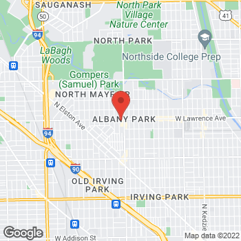 Map of Fifth Third Mortgage - Geovanni Costales at 4017 Lawrence Ave, Chicago, IL 60630