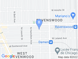 Map of Pawlosophy Dog Boarding options in Chicago | Boarding