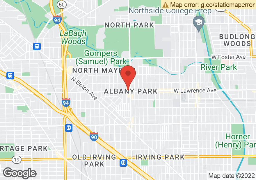 Google Map of 4010 W LAWRENCE AVE