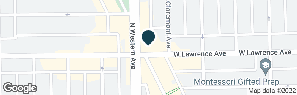 Google Map of4801 N LINCOLN AVE