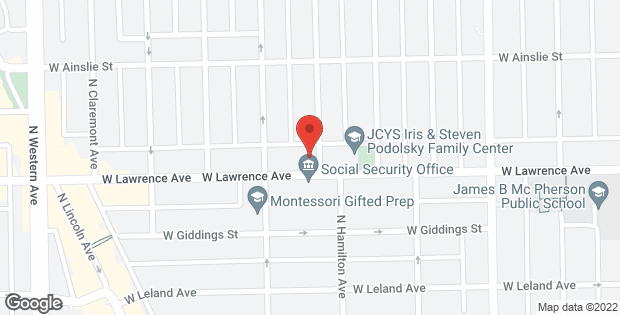 2134 W Lawrence Avenue Chicago IL 60625