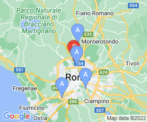 Karte für Parco di Roma Golf Club