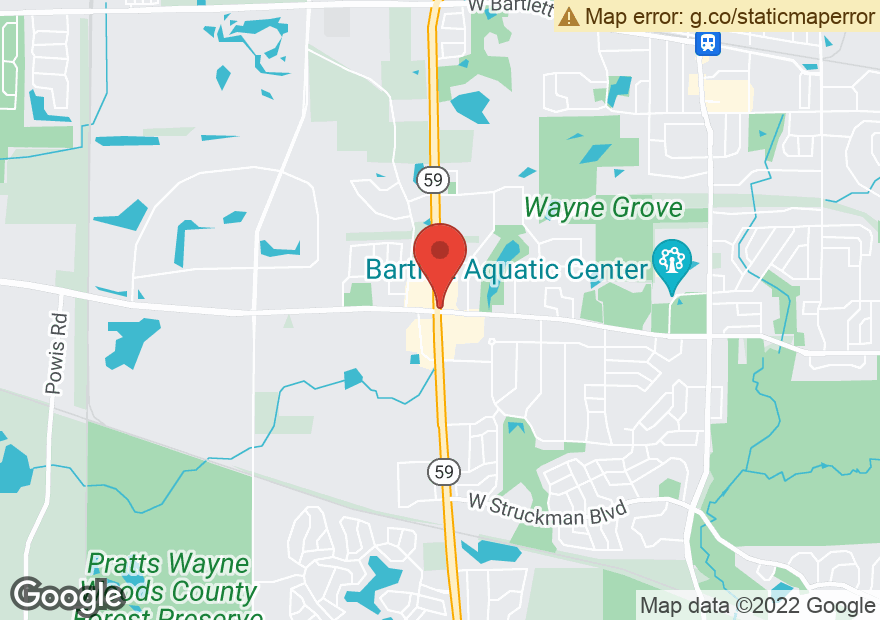 Google Map of 899 S IL ROUTE 59
