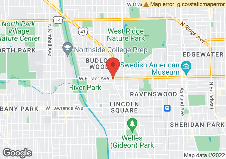 Google Map of 5158 N LINCOLN AVE