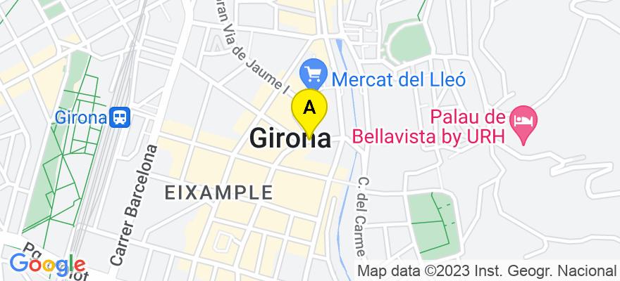 situacion en el mapa de . Direccion: C/ Ultonia, 17001 Girona. Girona
