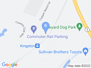 Map of Doggie Fun & Fitness Dog Boarding options in Kingston | Boarding