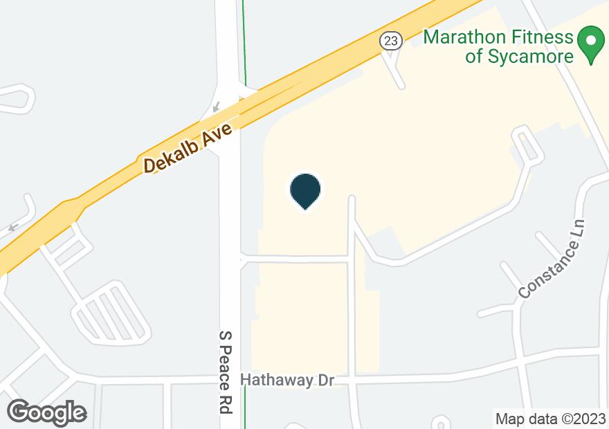 Google Map of1340 DEKALB AVE