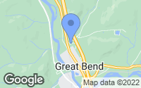 Map of Great Bend, PA