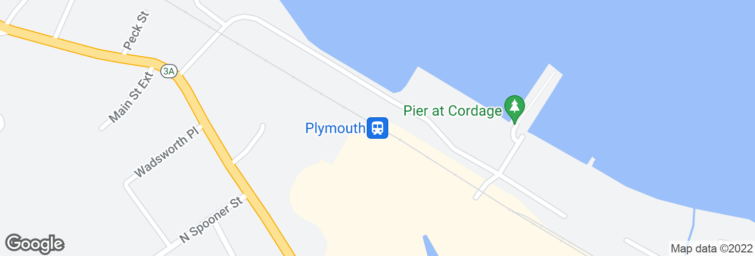 Map of Plymouth and surrounding area