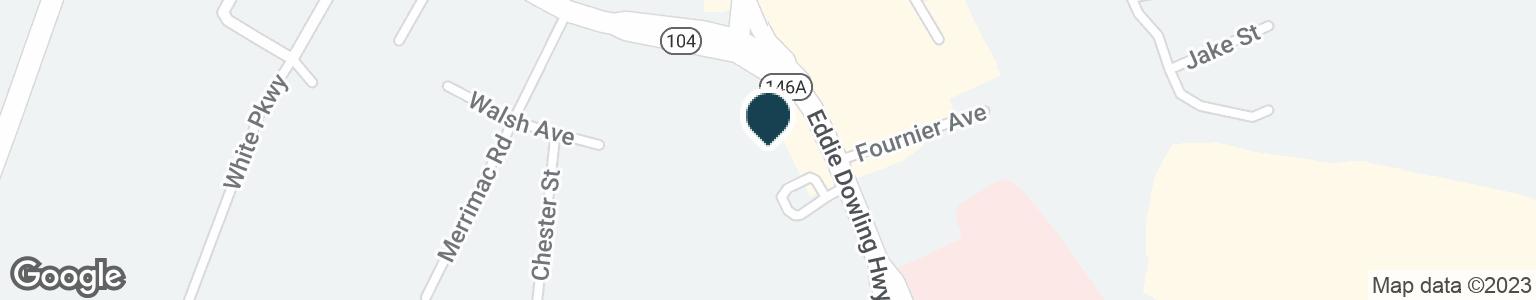 Google Map of1 EDDIE DOWLING HWY
