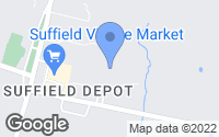 Map of Suffield, CT