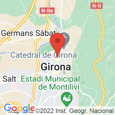 Map showing Hors Categorie Girona