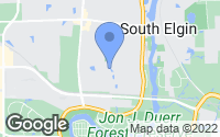 Map of South Elgin, IL