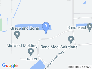Map of Bark Avenue Daycamp Dog Boarding options in Bartlett | Boarding