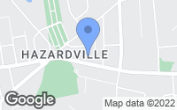 Map of Enfield, CT
