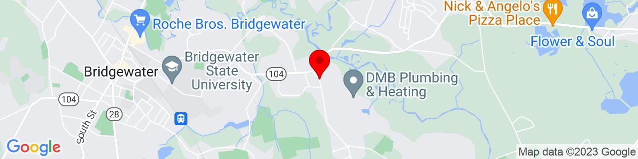 Google Map of 41.9893313, -70.9408742