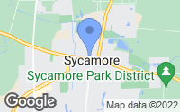 Map of Sycamore, IL